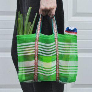 Lulu's Last-Minute Mini Mart Mesh Market Bag/Tote